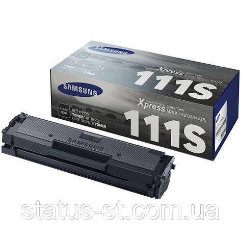 Заправка картриджа Samsung MLT-D111S для принтера SL-M2020, SL-M2020W, SL-M2070, SL-M2070W, SL-M2070FW в Киеве, фото 2