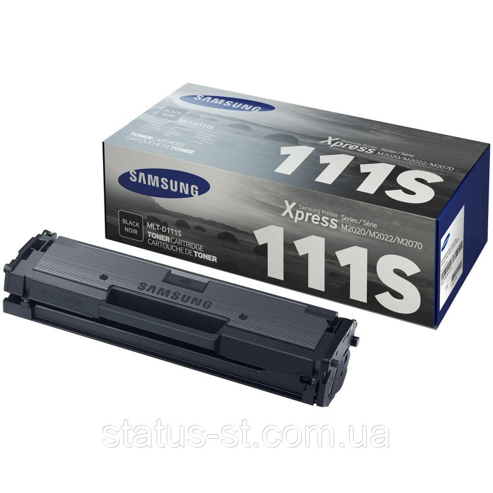 Заправка картриджа Samsung MLT-D111S для принтера SL-M2020, SL-M2020W, SL-M2070, SL-M2070W, SL-M2070FW в Киеве