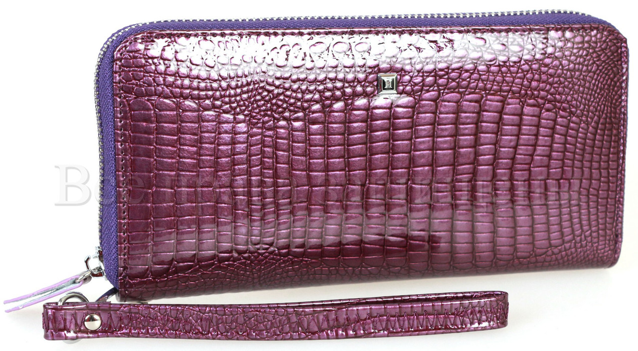 3c87c177217a Женский кожаный кошелек фиолетовый Horton HAE-38-1-dark-purrle ...