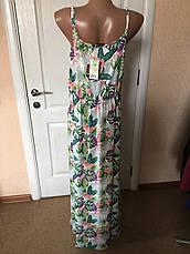 Женское летнее роскошное цветное платье в пол esmara Германия, фото 3
