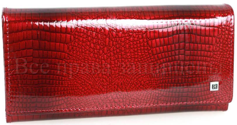 a3458f36f75b Женский кожаный кошелек бордовый Horton H-AE501-JUJUBE-RED: продажа ...