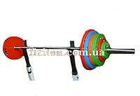 Штанга олимпийская в сборе 90 кг с покрытием
