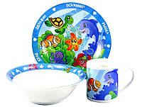 Детский набор посуды Океан ZBL 003