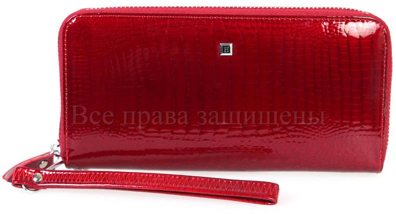 Женский кожаный кошелек красный Horton HAE38-1 RED, фото 2