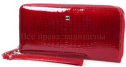 Женский кожаный кошелек красный Horton HAE38-1 RED, фото 3