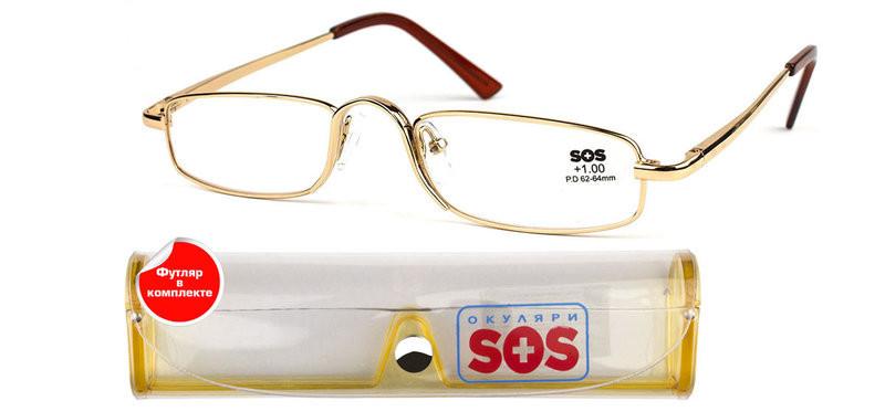 Очки для чтения SOS Gold W универсал.