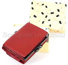 Женский кожаный кошелек красный Tailian T728-3H09-B RED, фото 3