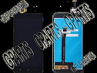 Модуль (тачскрин + экран в сборе) для смартфона Xiaomi Redmi 3, Redmi 3S, черный