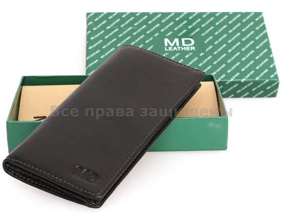 2654c1ed0817 Мужской кожаный кошелек черный MD-leather MD-1126-A BLACK: продажа ...