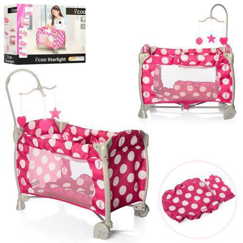 Кровать(манеж) для куклы ICOO D-90644 ***