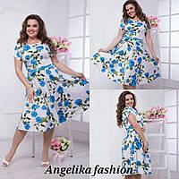 Нарядное женское платье в размерах 48-54