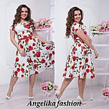 Нарядное женское платье в размерах 48-54, фото 2