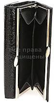 Женский кожаный кошелек черный Horton H-AE214 BLACK, фото 3