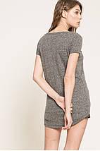 Женская свободная футболка с удлиненной спинкой (Review), фото 2
