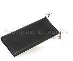 Женский кожаный кошелек черный Salfeite A-w79-BLACK, фото 2