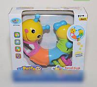 """Развивающая игрушка limo toy """"веселая гусеница"""" 513"""