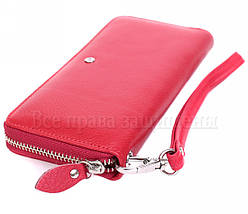 Женский кожаный кошелек красный Salfeite W38RED, фото 2