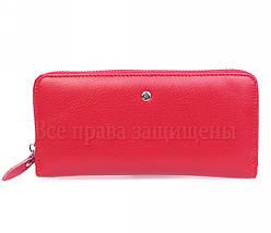 Женский кожаный кошелек красный Salfeite W38RED, фото 3