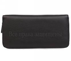 Женский кожаный кошелек черный Salfeite W38-1 BLACK, фото 3