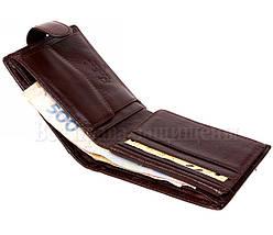 Мужской кожаный кошелек коричневый Tailian T197CRIMSONmen, фото 2