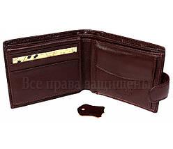 Мужской кожаный кошелек коричневый Tailian T197CRIMSONmen, фото 3
