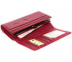 Женский кожаный кошелек красный Tailian T809 RED women, фото 3