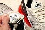 """Кроссовки Nike Air Max 270 """"Hot Punch"""". Живое фото. Топ реплика, фото 2"""