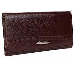 Женский кожаный кошелек темно- коричневый Tailian T515 CRIMSON women, фото 2