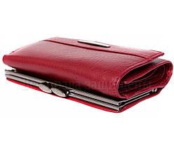 Женский кожаный кошелек красный Tailian T726 RED women, фото 2