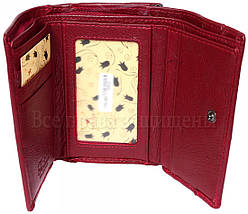 Женский кожаный кошелек красный Tailian T726 RED women, фото 3