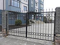"""Кованые ворота и калитка """" Фортрес """""""