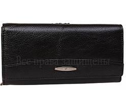 Женский кожаный кошелек черный Tailian T816 BLACK women, фото 3