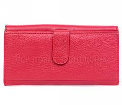 Женский кожаный кошелек красный Salfeite W46RED, фото 3