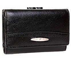 Женский кожаный кошелек черный Tailian T726 BLACK women, фото 2