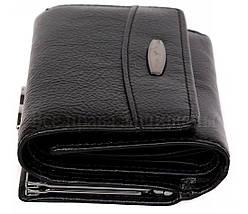 Женский кожаный кошелек черный Tailian T726 BLACK women, фото 3