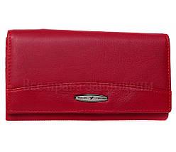Женский кожаный кошелек красный Tailian T515 RED women, фото 3