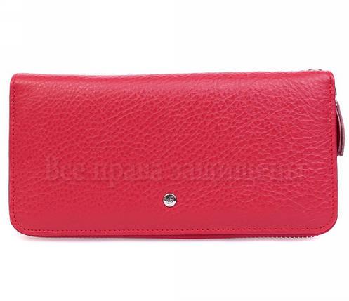 Женский кожаный кошелек красный Salfeite W38-1RED, фото 2