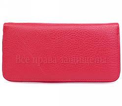 Женский кожаный кошелек красный Salfeite W38-1RED, фото 3