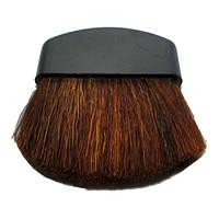 Кисть Компактная для Пудры или Румян, черная ручка Упаковкой