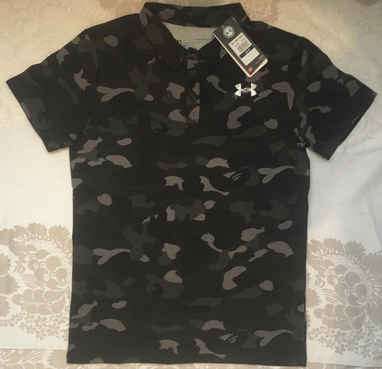 d44714b8390 Мужская футболка поло Under Armour M   продажа