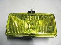 Стекло противотуманной фары универсальной (желтое)
