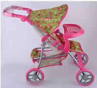"""Baby tilly коляска для куклы серия """"маша и медведь"""" (копия) цвет зеленый"""