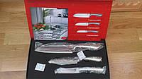 Набор ножей 3 шт. в подарочной упаковке,  качес