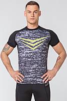 Размер XXL Спортивная мужская футболка Rough Radical Rashguard Smite (Польша) с коротким рукавом