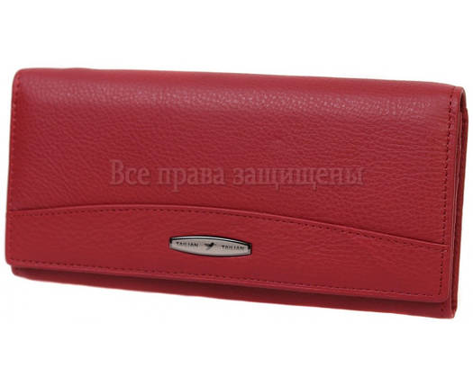 Женский кожаный кошелек красный Tailian T-849-RED, фото 2