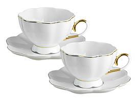 """Чайный набор на 2 персоны """"Классика"""" фарфор 920-083"""