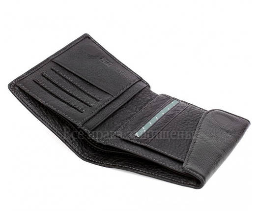 3a8be0e4d704 Мужской кожаный кошелек черный MD-leather MD-604-А: продажа, цена в ...