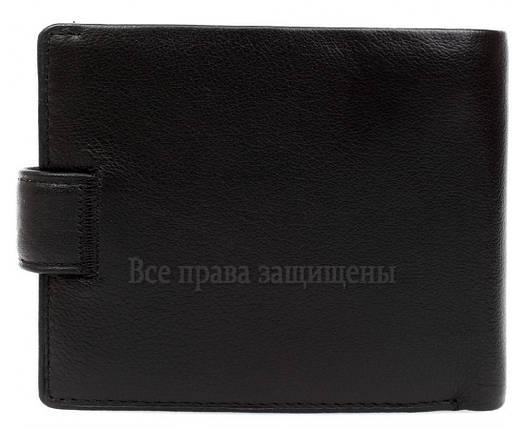 Мужской кожаный кошелек черный MD-leather MD-22-203, фото 2
