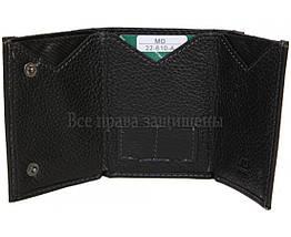 Мужской кожаный кошелек черный MD-leather MD-22-610-A, фото 2