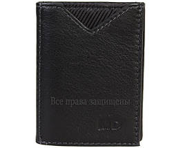 Мужской кожаный кошелек черный MD-leather MD-22-610-A, фото 3